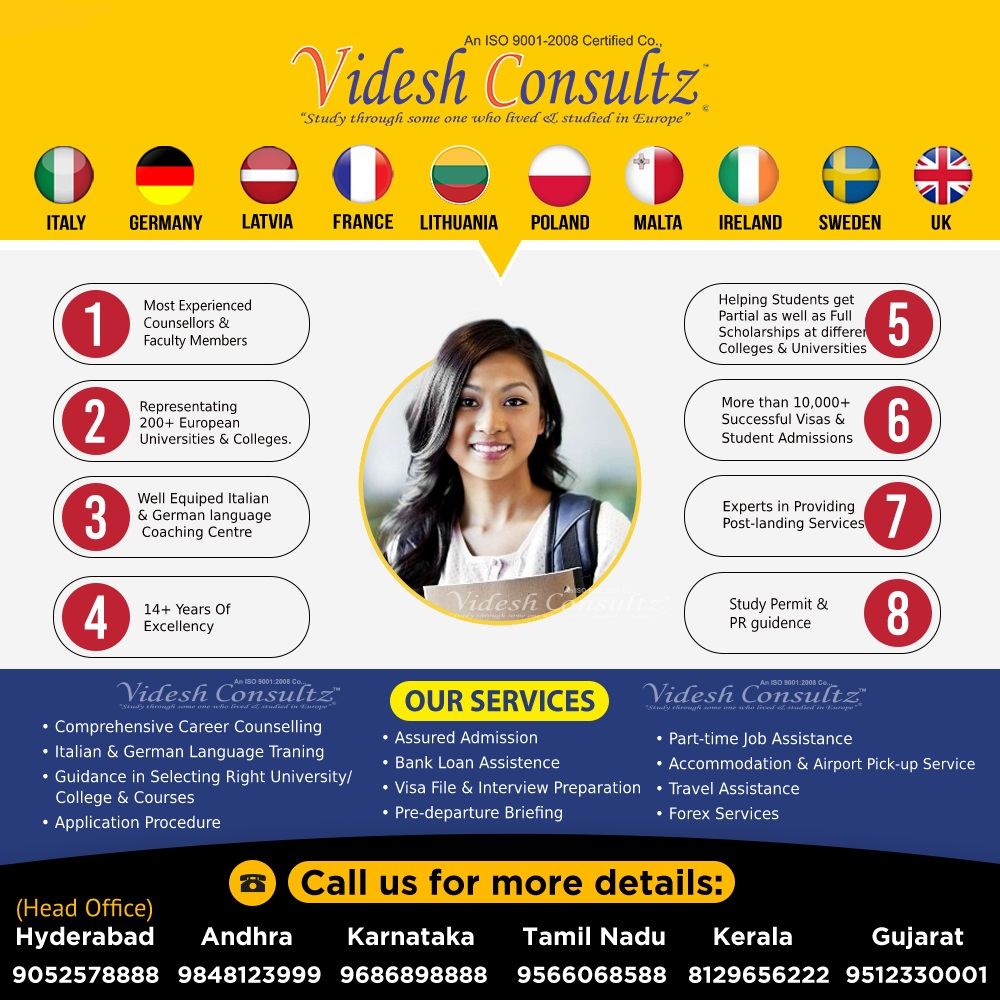 Study In Europe With Best Educational Consultants